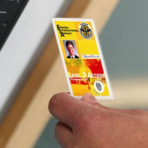Mitarbeiter - Karten für Zutritt und Identifikation