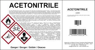 Etikett drucken - toxische Hinweise